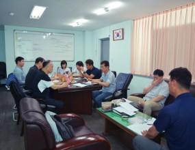 6월 23일(금) 한국실업배구연맹 회의실에서